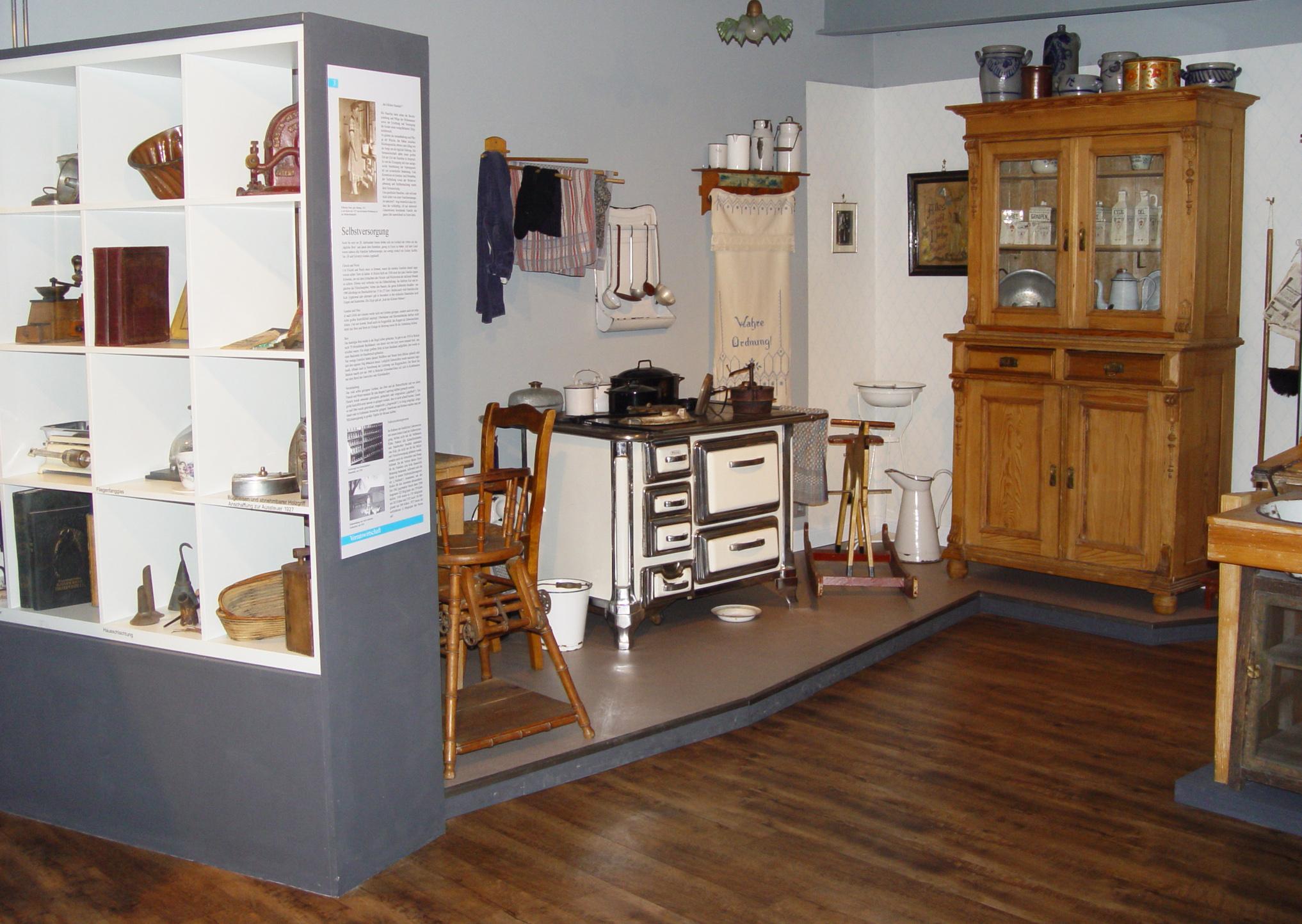 Das Heimatmuseum Hauswirtschaft Und Selbstversorgung Bislich